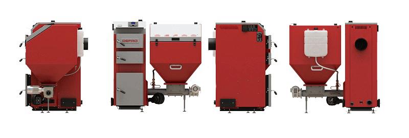 Автоматические угольные котлы Defro (Дефро)