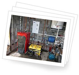 Проектирование систем отопления: фотографии выполненных объектов