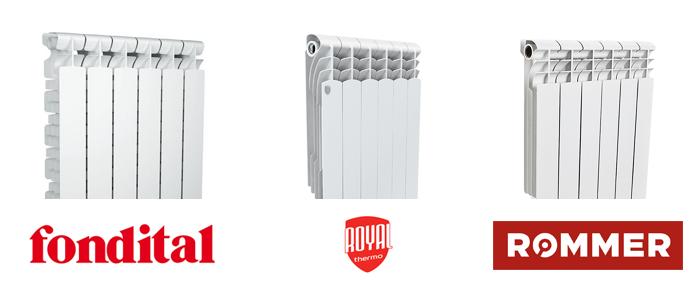 Цена на алюминиевые радиаторы