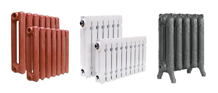 Чугунные батареи: различные варианты форм