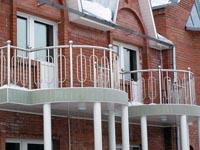 Галерея объектов: лестничные ограждения для жилых помещений