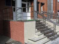 Галерея объектов: лестничные ограждения для больниц