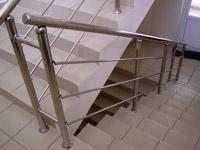 Галерея объектов: лестничные ограждения для общеобразовательных помещений